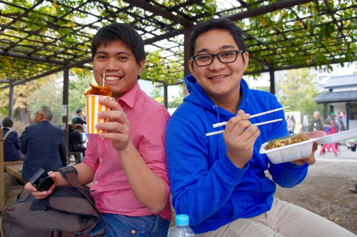 Allan and Ruther, temple food endorsers